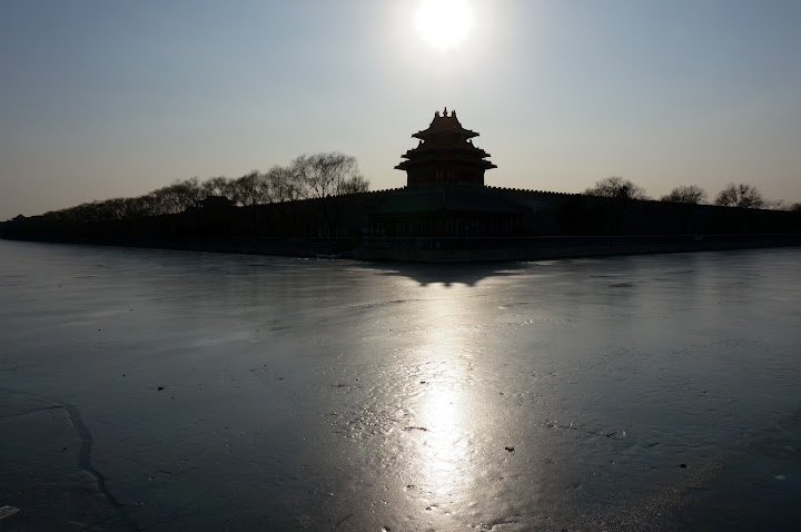 Forbidden City helada