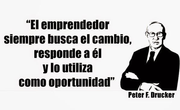 frase Peter Drucker
