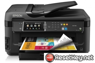 Reset Epson WorkForce WF-3510 printer Waste Ink Pads Counter