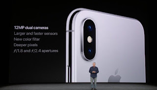 Image result for iphone X rear cameras