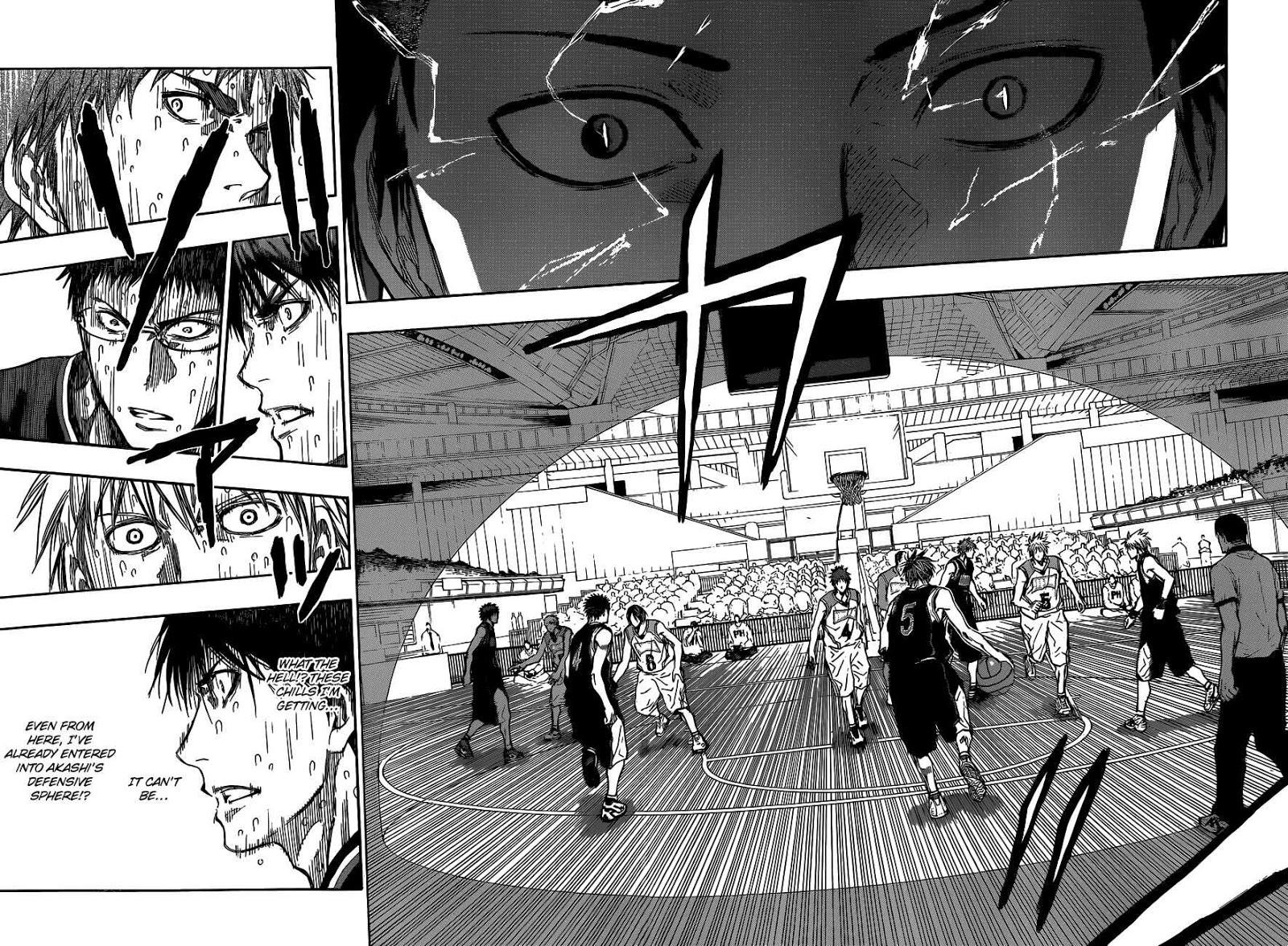 Kuroko no Basket Manga Chapter 262 - Image 04-05