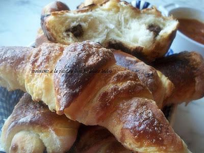 Pâte au lait fermenté croissants
