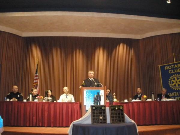 SR Fire Chief Mark McCormick