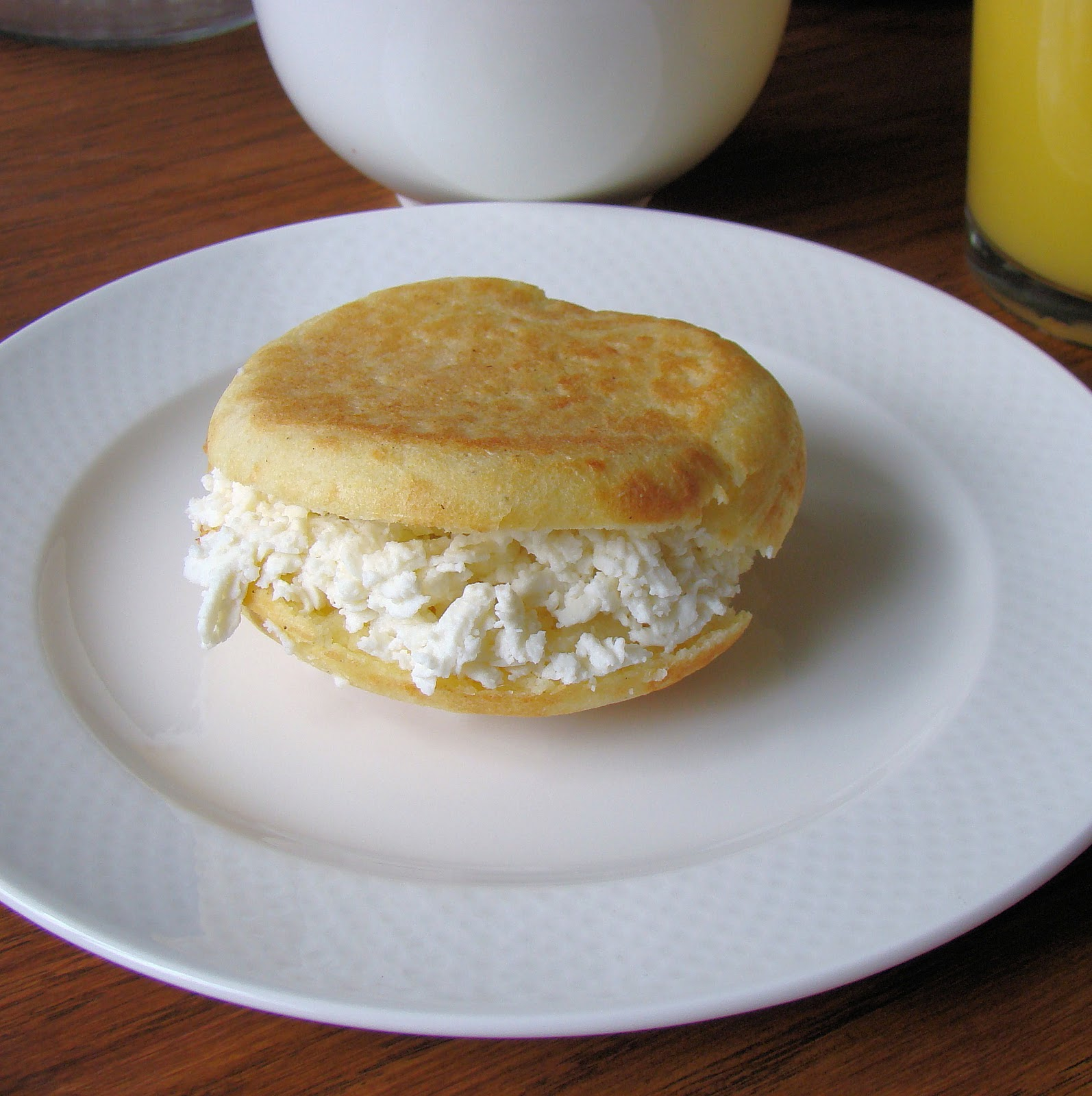 Arepas are also very popular in Colombia. To the point that the arepa ...