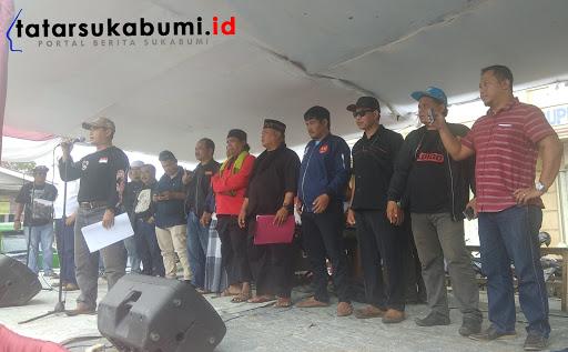 Deklarasi dukung Pasangan Capres Jokowi - Amin di Sukaraja Sukabumi // Foto : Dian Syahputra Pasi