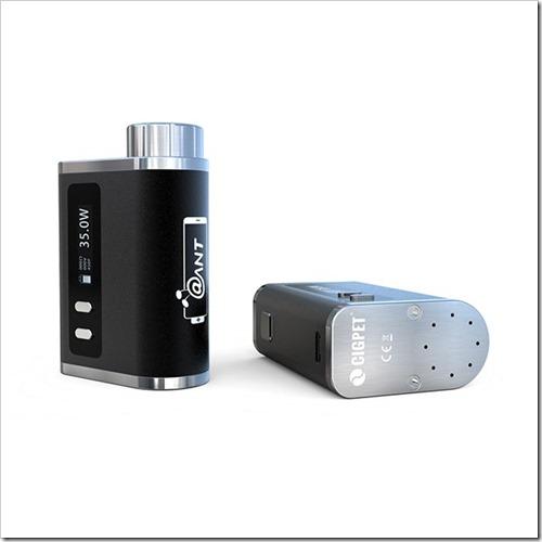 ijoy cigpet ant tc 80w box mod 1 5 - 【海外】「CoilArt AZEROTH RDTA - 24mm」「Vaporesso Tarot Pro TC 160W Box Mod」「Smok Alien 220W スターターキット」「IJOY Cigpet Ant TC 80w Box Mod」【Everzon新着】