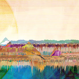 generative digital art landscape