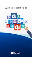 screenshot of Microsoft Launcher