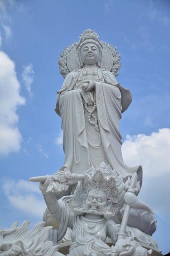 New Kuan Yin statue at Jangsem Ling, Malaysia