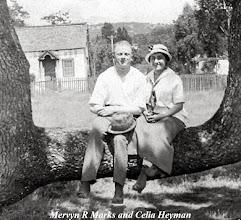 Photo: Mervyn Raphael Marks and Celia Heyman Marks