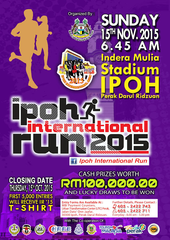 Announcement: Ipoh International Run 2015