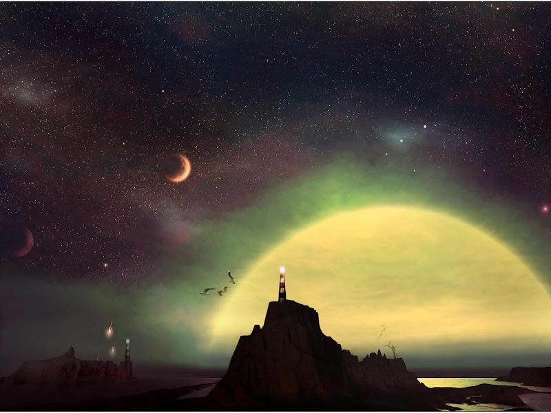 Magick Landscape Of Deep 1, Magical Landscapes 3