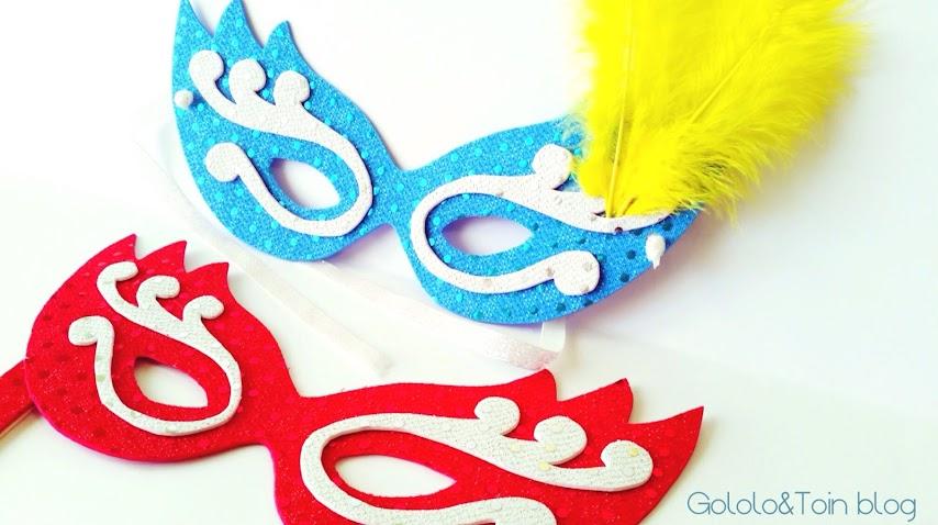 máscara veneciana carnaval diy