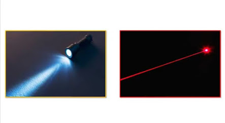 Difference between flash and beam light