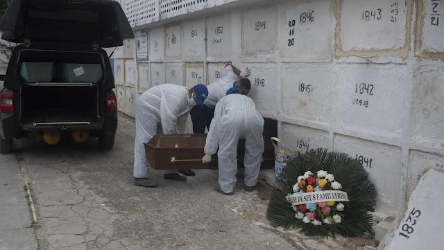 Brasil registra mais 1.639 mortes por Covid-19 em 24h