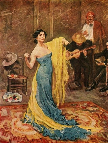 Max Slevogt - The dancer Marietta di Rigardo