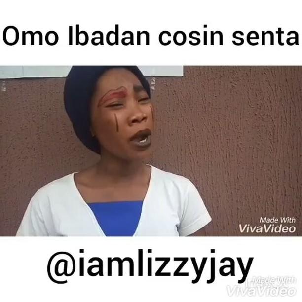 Comedy Video: Lizzy jay – Omo Ibadan cosin Senta part five! @iamlizzyjay