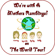A Mothers Ramblings World Tour Badge