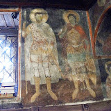29. Earlier Byzantine frescoes. The Monastery of Saint Naum. Ohrid