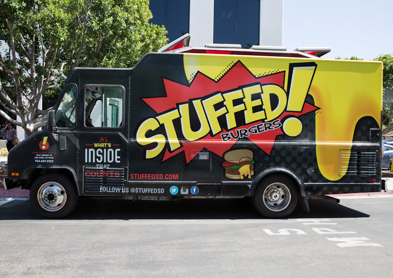 photo of the Stuffed! food truck