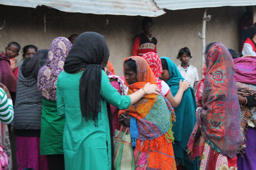 Outreach - Praying for the sick