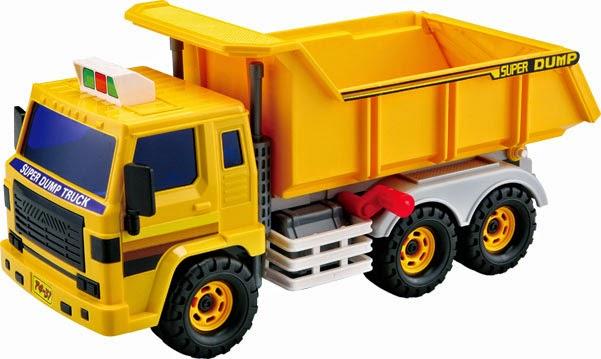 Mô hình Xe Ben Super Dump Truck Daesung DS-406 có kích thước lớn