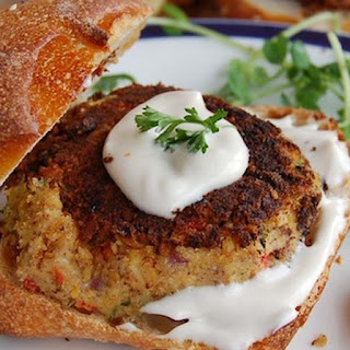 Sweet Balsamic Chickpea Cakes