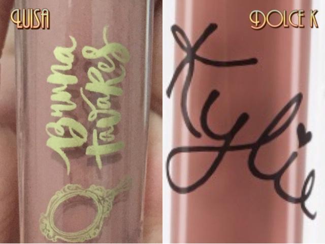 comparação de luisa e dolce k