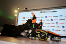 Nico Hulkenberg and Sergio Perez reveal the VJM08
