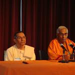 Swami Brahmarupananda joins Swami Sarvadevananda in answering questions