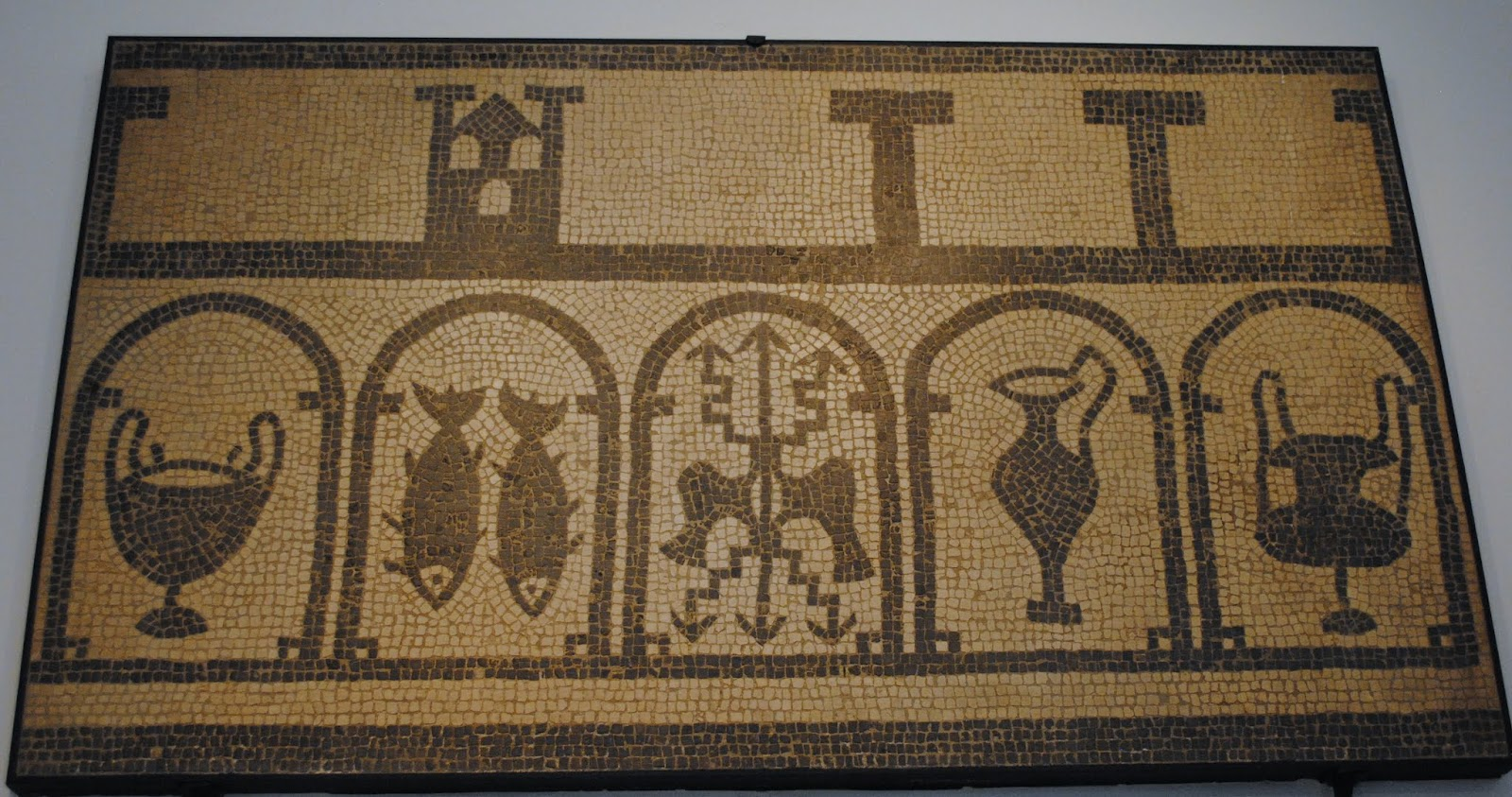 My Photos: Mosaics -- France -- Nîmes -- Musée Archéologique