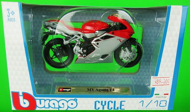 Sản phẩm MV Agusta F4 DieCast Motorcycle Model Scale 1:18 BBurago