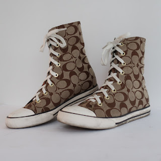 Coach Logo High Tops