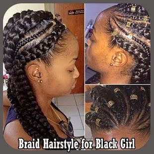 Braid hairstyle for black girl android apps on google play braid hairstyle for black girl screenshot thumbnail urmus Gallery