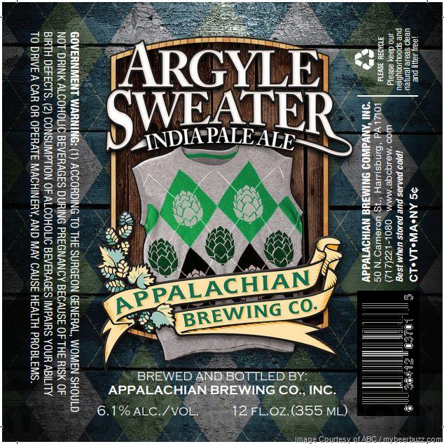 Appalachian Brewing - Argyle Sweater IPA