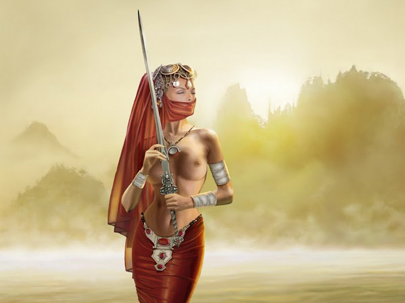 Beauty Of The Land Of Sand, Magick Warriors 3