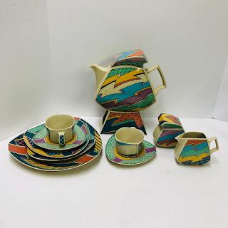 Rosenthal X Dorothy Hafner Tea Set