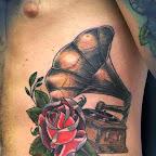 rosen gramophone - tattoos for women
