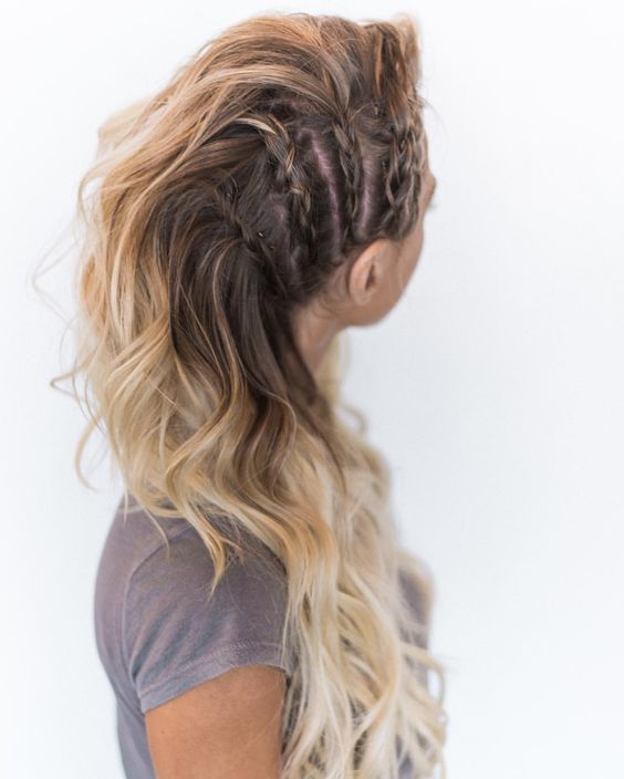 long hair -A collection of ideas for braided hair In 2017 7