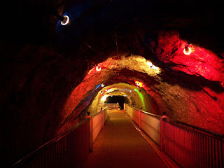 View of Khewra Salt Mine - Pakistan