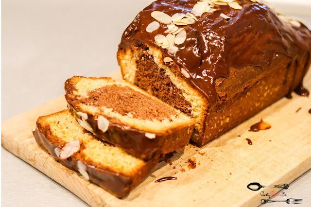 ciasta i desery,ciasto marmurkowe, szybkie ciasto marmurkowe, babka marmurkowe, ciasto w keksówce, szybkie ciasto w keksówce