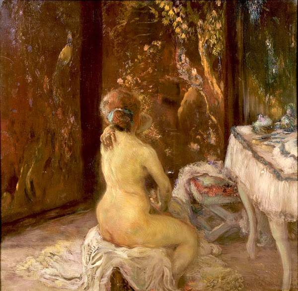 Gaston La Touche - La Toilette