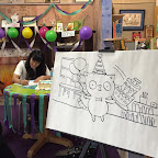 We had a party when Ruth Chan stopped by to sign her picture book,