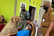 Kejar Target Vaksinasi, Kecamatan Medan Marelan Melakukan Vaksinasi Keliling