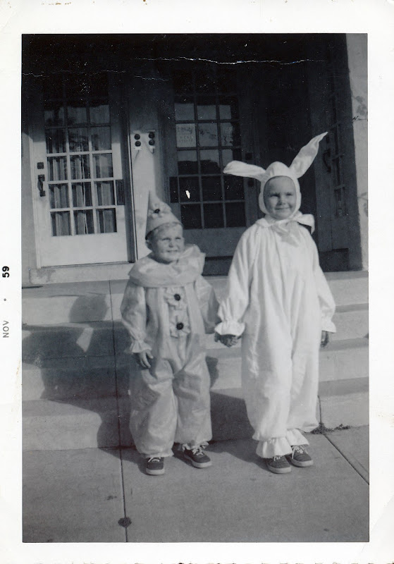 Evie and Steve Halloween 1960
