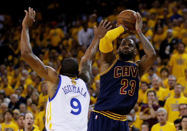 Cavs Lose Thriller Kyrie in Game 1 vs Warriors  LeBron Gets 44 Points