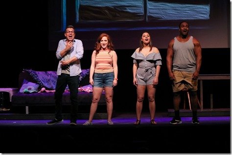 Talented cast for the Bickford hit A Dog Story; photo by Jack Grassa