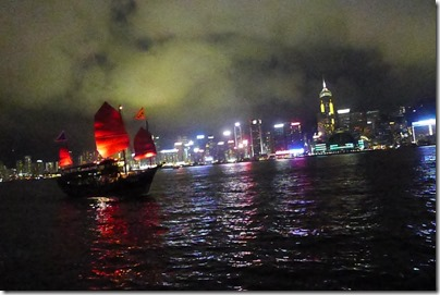 all blurry at Victoria Harbour
