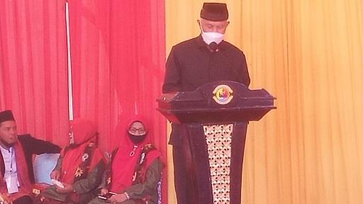 Gubernur Sumbar Apresiasi Danlantamal II Laksma TNI Hargianto Dianugerahi Gala Datuak Bagindo Malano Nan Hitam