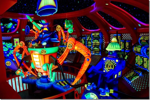 Buzz Lightyear ride at Magic Kingdom